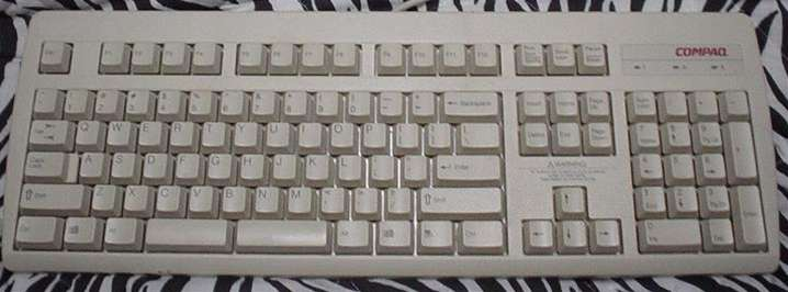 Compaq Split-Spacebar Keyboard